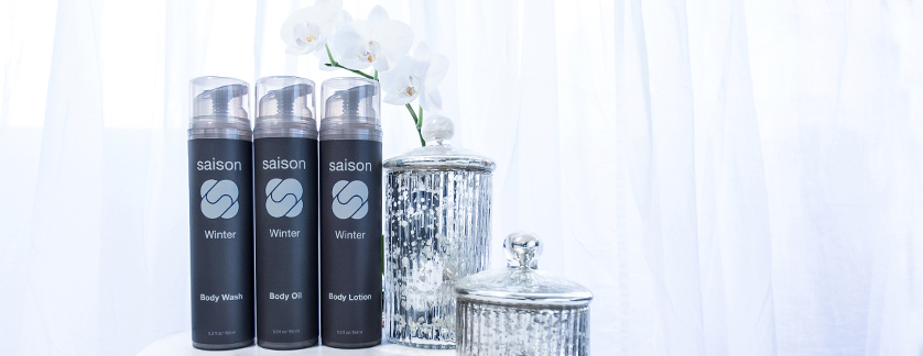 Saison Winter Organic Body Collection