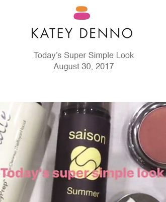 Saison Organic Oil Free Moisturizer for Super Simple Look from Katey Denno