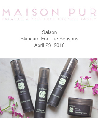 Saison Spring Face Collection Review
