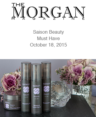 Saison Autumn Collection in Morgan Magazine