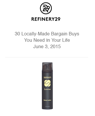 Saison in Refinery 29