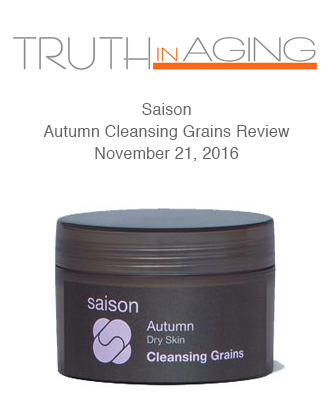 Saison Organic Skincare in Truth In Aging