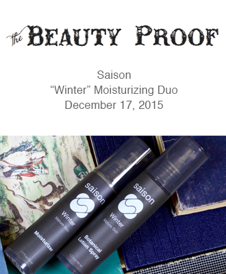Saison Winter Collection in The Beauty Proof