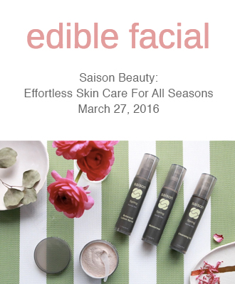 Saison Spring Face and Body Collection Review